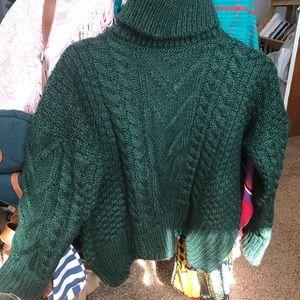 Green Zaful Sweater